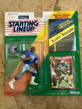 1992 Barry Sanders Initial Gamme Figurine NFL Detroit Lions Kenner Nip non - $12.86