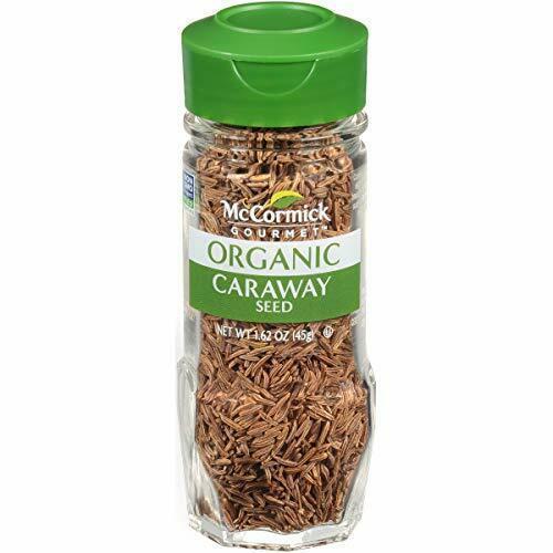 McCormick Gourmet Organic Caraway Seed, 1.62 oz Ounce (Pack of 1) - $9.04