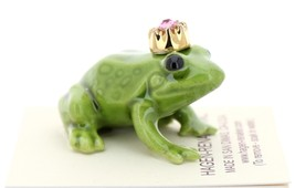 Hagen-Renaker Miniature Ceramic Frog Figurine Birthstone Prince 10 October image 2