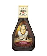 Newman's Own Balsamic Vinaigrette Salad Dressing, 16oz, Case of 6 bottles - $38.99