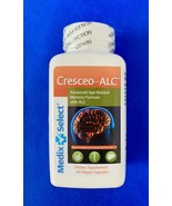 Cresceo-Alc, 60 Caps, Supports Memory Functioning, Brand New, Mfg Seal, ... - $31.97