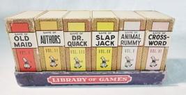 Vintage Bibliothek von Spiele Russell A Big Little Kartenspiel 1945 Made... - $38.40