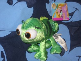 Disney Store PASCAL CHAMELEON Plush Toy from Tangled Rapunzel. New. - $14.84