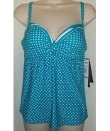 COCO REEF U-WIRE POWER TANKINI TOP,SIZE 32/34D - $574,46 MXN