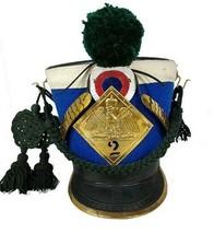 Christmas Gift France Tschako Pick Hood Shako Napoleon Waterloo Infantry... - $203.50