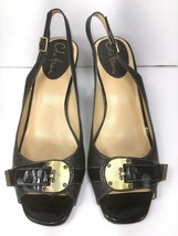Cole Haan Air Womens Sling Back Shoes Size 8.5 B Sandals Brown Leather - $41.87