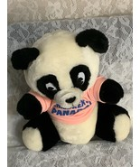 Panda Stuffed Toy with Panadol Children Promotion Shirt. Vintage. - $12.00