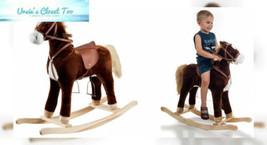 Happy Trails Plush Rocking Horse - $92.30
