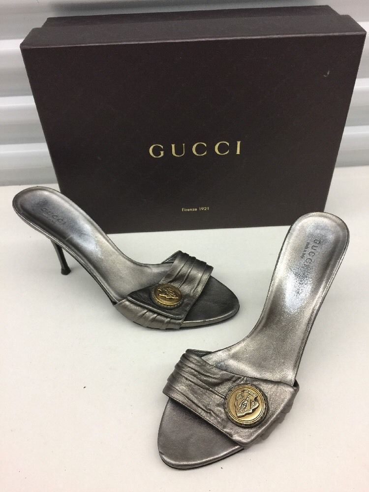 3bd816485a8eb  400 GUCCI Metallic Metal Pewter Gold Coins and 34 similar items