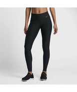 NEW! NIKE Women's Power Training Tights 802954-010 -Black/Cool Grey [M] - $93.94