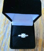 Vintage Freshwater Pearl 925 Sterling Silver Solitaire Minimalist Size 6... - $48.38