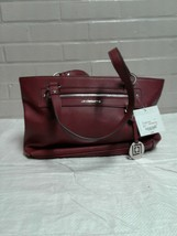 Women's Liz Claiborne Maroon Size Large Shoulder Bag New - $17.12