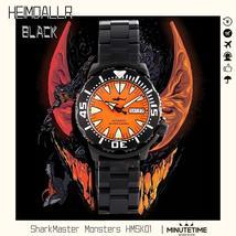 Heimdallr Automatic Diving Watch PVD Case Luminous 200m Waterproof Sapph... - $288.77+