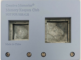Creative Memories Square Punch Set, Two Punches in One image 2