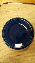 "Fiestaware Cobalt Blue Salad Plate 7 1/4"" Diameter, Holmer Laughlin. - $7.83"