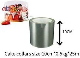 Haoye Cake Collars 25M*10Cm*0.5Kg-Clear Acetate Strips Transparent Polye... - $25.35
