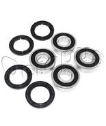 YAMAHA YFM 400 FW BIG BEAR 4*4 ATV Bearings Kit Both Sides Front Wheel 2... - $26.99