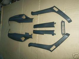 Seven Pcs Gray Honda Helix CN250 Lower Trim Panels - $95.00