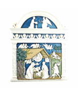 Angels Harkening the Birth of Christ's Nativity Wall Sculpture - $51.45