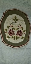 Grasslands Road Christmas Seasons of Peace Serving Tray New - $19.79