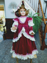 """Vintage 1960's Companion Doll 36"""" Playpal Type in Fabulous Outfit - $95.00"""