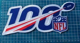 "NFL 100th years Anniversary 2019 logo Patch Football Jersey huge 10"" emb... - $26.00"