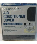 "Heavy Duty Air Conditioner Cover by Weather Block Square 34""x34""x30"" NEW! - $29.01"
