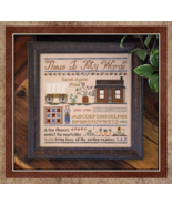 These Is My Words cross stitch chart Little Hou... - $13.50