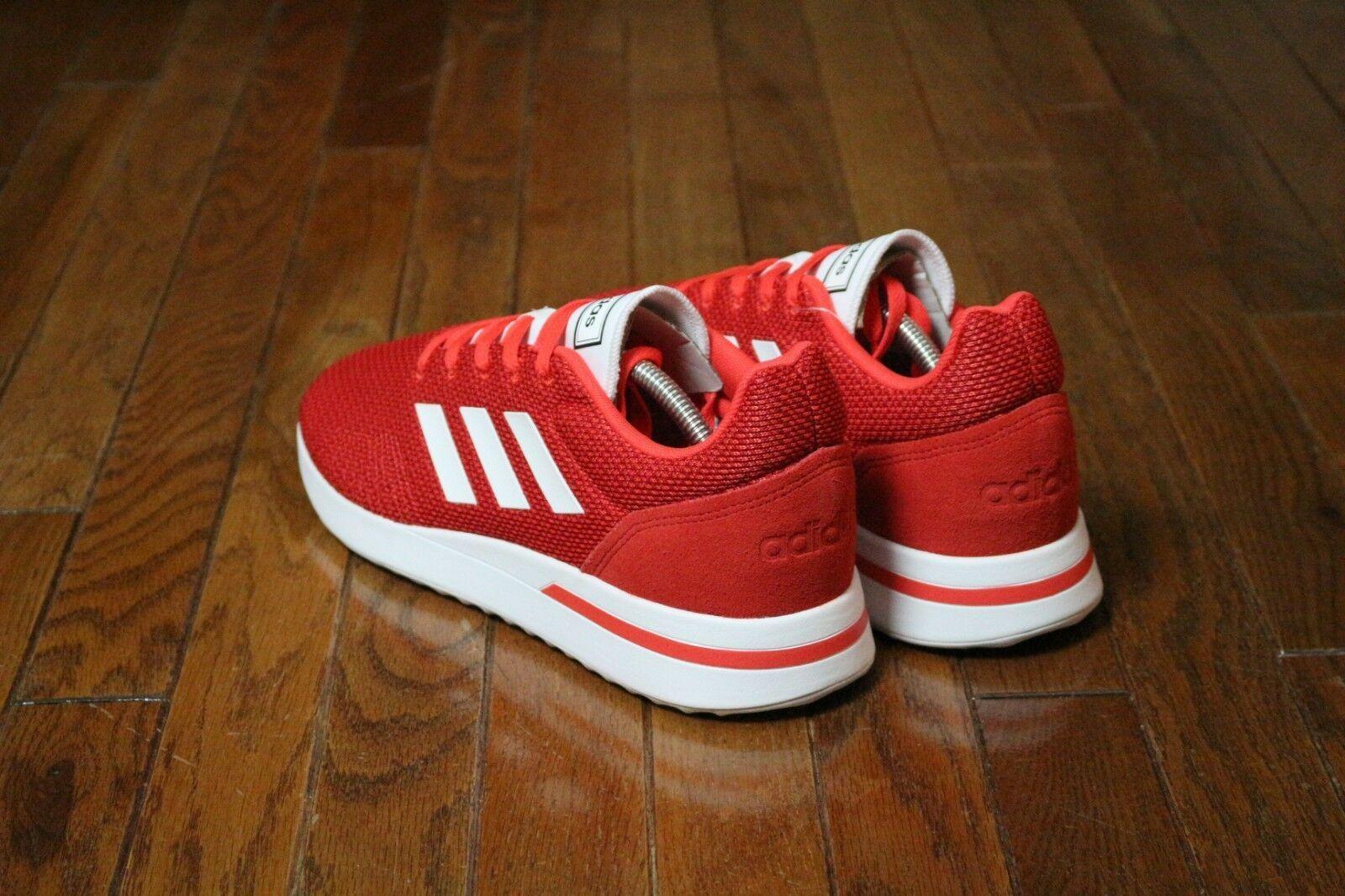 Adidas Men's Size 10.5 Essentials Run70s Running Shoe B96556 Red