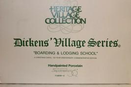 Dept 56 Dickens Village - Boarding & Lodging School #18, Aniv Ed - #5809... - $19.95