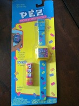 PEZ Watch and Candy Dispenser Vintage, Dream Castle, 1995, Blue & Yellow - $19.75
