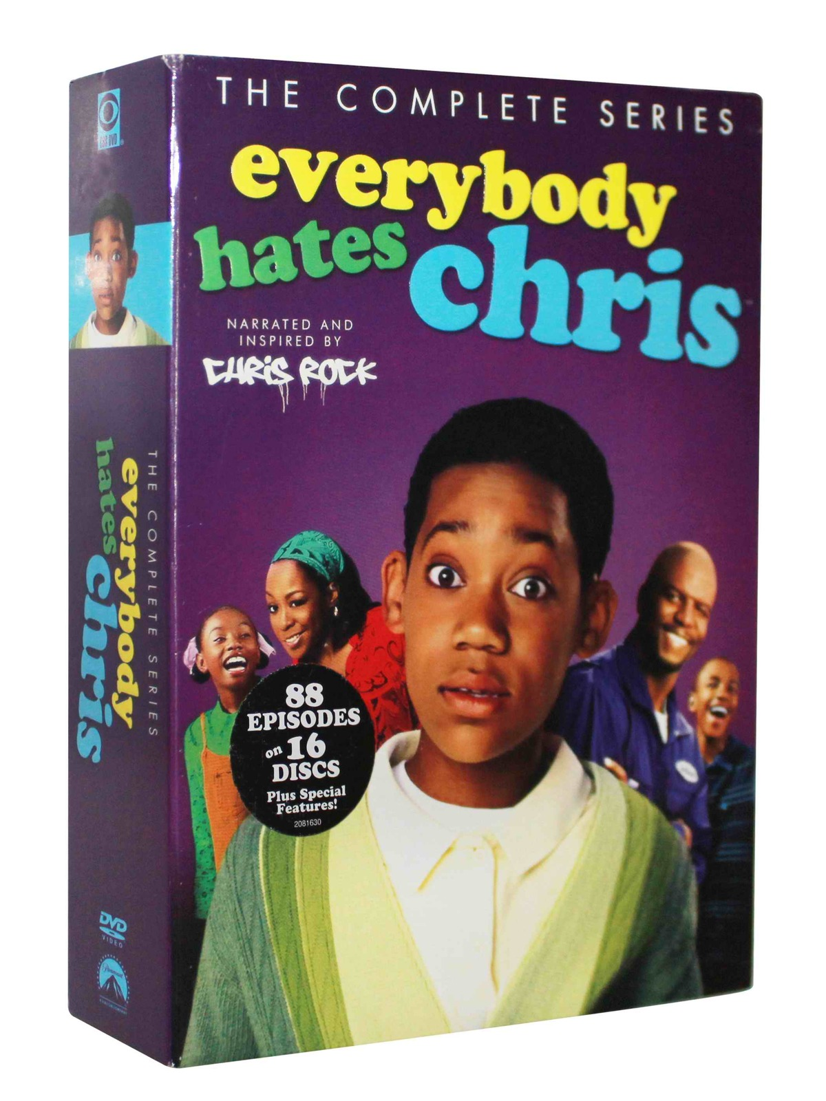 Everybody Hates Chris The Complete Series DVD Box Set 16 Disc Free Shipping New