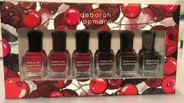 Deborah Lippmann Limited Edition Very Berry 6 Piece Nail Polish Set New ... - $17.81