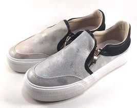 Restricted Voice Round Toe Thick Bottom Slip On Sneakers Choose Sz/Color - $34.30
