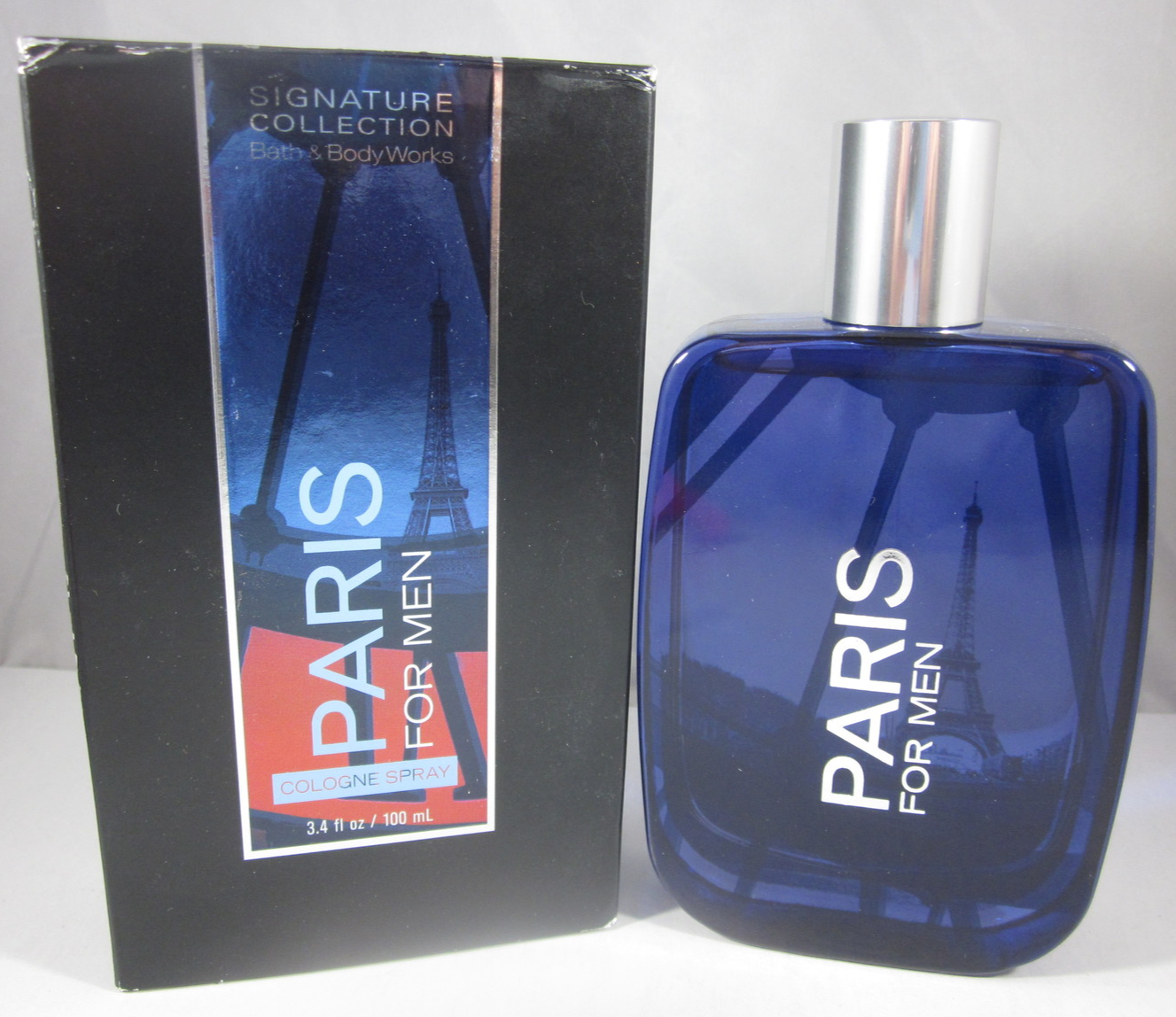 Primary image for Bath & Body Works Cologne Spray 3.4 oz  Paris For Men
