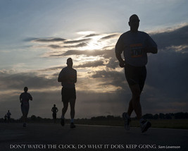 Quality Inspirational POSTER.Don't watch the clock.Keep going.Motivational.q0026 - $9.90+