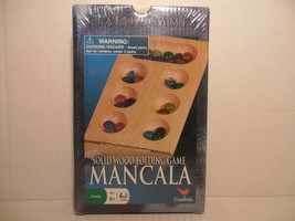 Classic Games Mancala Solid Wood Folding Game Cardinal Family NEW/SEALED - $16.72