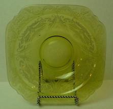 Madrid Dinner Soup Bowl Indiana Glass 1976 Bicentennial Reissue Golden Glow - $21.29