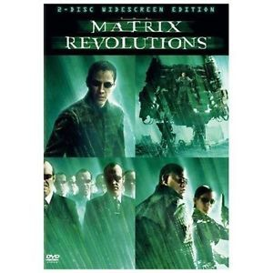 The Matrix Revolutions (DVD, 2004, 2-Disc Set) New Sealed