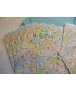 Thanks For Your Baby gift Pack of 8 Cards And Envelopes Forget Me Not Cards - $2.94