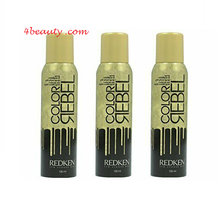 Redken Color Rebel Glitter Spray Gold 3.6 Oz(pack of 3) - $98.49