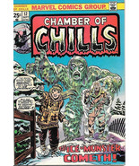 Chamber of Chills Comic Book #12, Marvel Comics 1974 VERY GOOD+ - $7.14