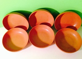 Vintage 1950s Mid-Century Modern Ellinger Agatized Wood Salad Bowls Coll... - $11.30
