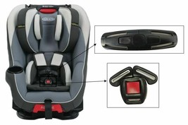 Graco Head Wise 65 Toddler Child Car Seat Harness Chest Clip & Buckle Sa... - $19.79