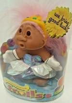 Original Good Luck Troll DAM Doll 2006 New NOS 63800 Pink Crown Princess... - $28.20