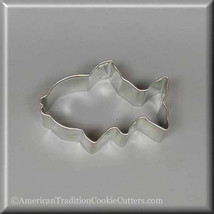 "3"" Fish Metal Cookie Cutter #NA6044 - $1.75"