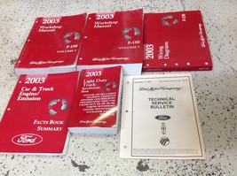 2003 Ford F-150 F150 TRUCK Service Shop Repair Workshop Manual Set W EWD... - $237.55