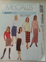 McCall's M4520 MIsses Quick & Easy Skirts in 5 Lengths Size CCD (10-12-14-16) - $12.25