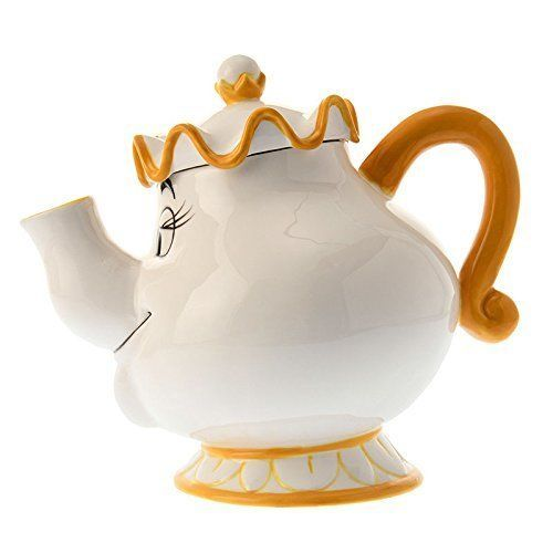 Disney Store Japan Beauty and Beast Mrs.Pot and Chip Tea cup set Be our guest FS image 3