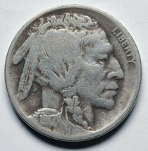 1917D Buffalo Nickel 5¢ Coin Lot# A 258 image 1